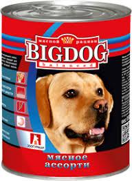 Корм для собак <b>ЗООГУРМАН Big Dog</b> Мясное ассорти ж/б ...