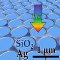 Transparent and conductive electrodes by large-scale nano ... - OSA
