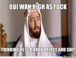 Obi Wan High As Fuck by captainmcduck - Meme Center via Relatably.com