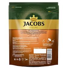 <b>Кофе растворимый Jacobs Velour</b> пакет, 140 г.