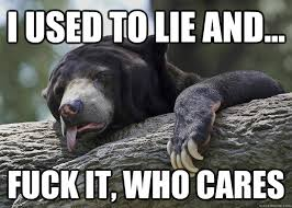 Grizzled Confession Bear memes   quickmeme via Relatably.com