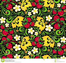 russian traditional khokhloma pattern stock photos images vector pattern traditional russian style hohloma stock photo