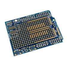 arduino <b>prototyping shield pcb</b> board - blue