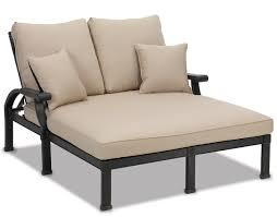 del mar double chaise lounge outdoor with metal legs for patio furniture ideas chez lounge furniture