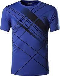 <b>Jeansian Men's Sports</b> Breathable Quick Dry Short Sleeve <b>T</b>-Shirts ...
