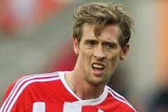 Peter Crouch could face a three-match ban for his clash with Albion's Jonas Olsson after the FA confirmed they will review his apparent 'eye poke'. - WD4183067%40Peter-Crouch.thumb