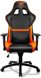 <b>Cougar Armor</b>, Black Orange игровое <b>кресло</b> — купить в интернет ...
