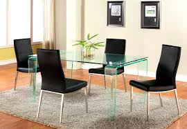 Dining Room Sets Toronto Furniture Astounding Dining Room Set Black Leather Chairs And