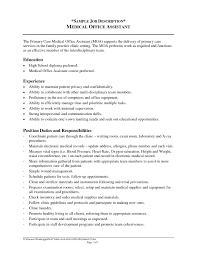 office assistant job description sample   resumeseed com    job description for administrative assistant for resume the most resume administrative assistant duties