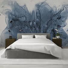 Ink Watercolor Wallpaper, <b>Hand Painted</b> Wall <b>Mural</b> Design, Various ...