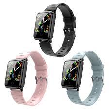 V6 1.3 Inch Bluetooth <b>Smart Bracelet Body</b> Temperature Hear Rate ...