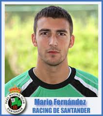 Mario Fernández. Mario Fernández Cuesta. Club: Real Racing Club. Fecha de nacimiento: 30/04/1988. Lugar de nacimiento: Santander - 200912174Mario-Fernandez