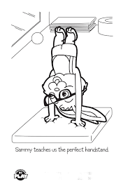 Gymnastics Coloring Sheets Gymnastics Coloring Pages Printable Pagecoloring Page