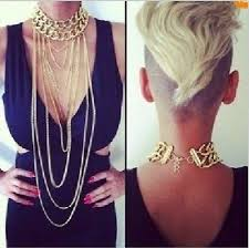 New Fashion <b>Punk Luxury</b> Multilayer Tassel Link Waist Necklace ...