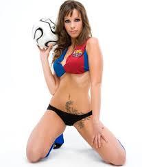 Resultado de imagem para chicas hermosas fútbol español