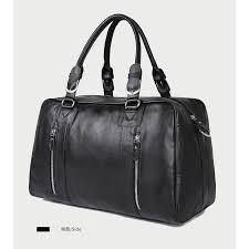 Super Cool <b>Men</b> Genuine <b>Cow</b> Leather Big <b>Travel Bag</b> Shoulder ...
