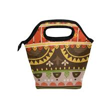 Shop Roman Style Pattern <b>Lunch Bag</b> Tote Travel Picnic Insulated ...