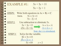 3 2 solving systems of equations (elimination method)