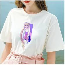 <b>Lus Los</b> New Sailor Moon <b>funny</b> T <b>Shirt</b> Harajuku clothes <b>Tshirt</b> ...