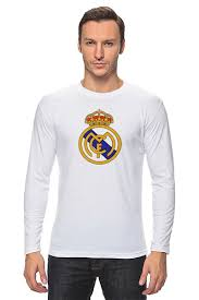 "Лонгслив """"Реал Мадрид"""" #670621 от dobryidesign - <b>Printio</b>"