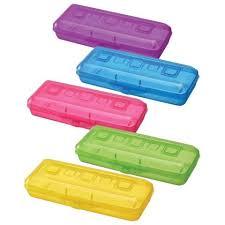 46 ₽ — <b>Пенал</b> СТАММ пластиковый, тонированный, цвет ...