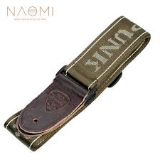 <b>NAOMI Guitar Strap</b> Leather Head <b>Adjustable</b> Shoulder Strap For ...