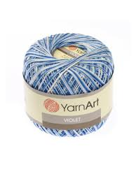 <b>Пряжа</b> для вязания <b>YarnArt Violet Melange</b>, 5 шт <b>YarnArt</b> ...