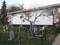 ideas outdoor halloween pinterest decorations: outdoor halloween decorations ideas e   amazing home image of diy