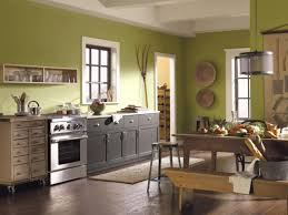 green kitchen cabinets couchableco: best kitchen paint colors home brewers
