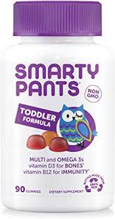 SmartyPants <b>Toddler</b> Gummy Vitamins <b>Complete</b>: <b>Multivitamin</b> ...