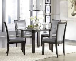 Refinishing A Dining Room Table Dining Table Chairs Refinished Black Dining Table Glass Dark Brown