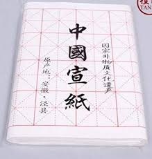 Chinese Japanese Calligraphy Practice Xuan <b>Rice Paper</b> Pack <b>100</b> ...