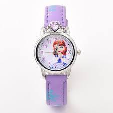Shop <b>Fashion Children</b> Cartoon Snow Princess <b>Watch</b> Barrel ...