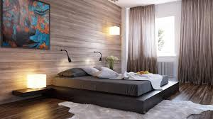 bedroom paneling ideas:  wood panel bedroom