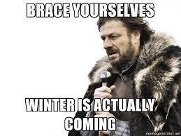 No funny meme, no metaphor. It's just getting cold - Imgur via Relatably.com