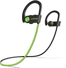 LETSCOM <b>Bluetooth Headphones</b> V5.0 IPX7 Waterproof, <b>Wireless</b> ...