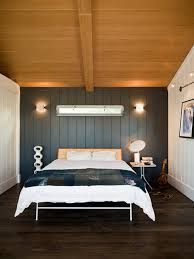 bedroom paneling ideas: bed with back paneling photos dfa  w h b p modern bedroom