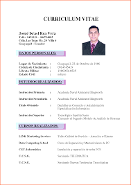 curriculum vitae event planning template curriculum vitae simple espanol pictures