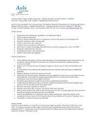 cna resume sample nursing skills and professional experience job medical assistant resume job duties medical office assistant job description medical assistant back office duties resume
