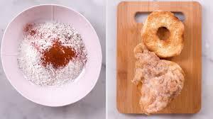 Fried Chicken Donut - YouTube