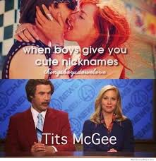 When Boys Give You Cute Nicknames | WeKnowMemes via Relatably.com