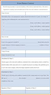 related for 5 event planner contract template event planning contract templates