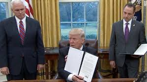 Image result for Surprise! Trump doing what he said he would