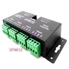 <b>SP901E SPI</b> output 4 control group LED <b>Signal Amplifier</b> Controller ...