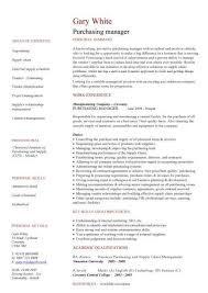 Resume for purchase officer Naukri FastForward
