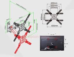 "<b>NB</b> F350 30 50""aluminum wall swing <b>gas spring</b> arm 8 16kg tv ..."