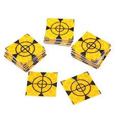 Tutoy <b>50pcs</b> Reflector Sheet 20x20mm Reflective Tape Target ...