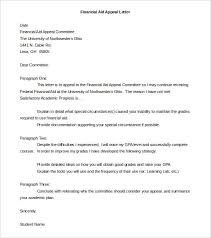 Appeal Letter Template – 10+ Free Word, PDF Documents Download ... Financial Aid Appeal Letter Template Word Doc