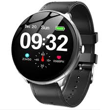 "dks63 on Twitter: ""<b>Kospet V12 Leather</b> Smart Watch Heart Rate ..."