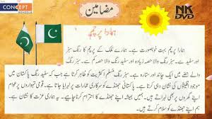 essay our flag urdu learning